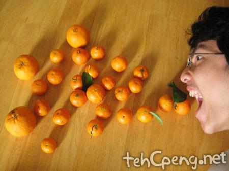 Orange brain fart