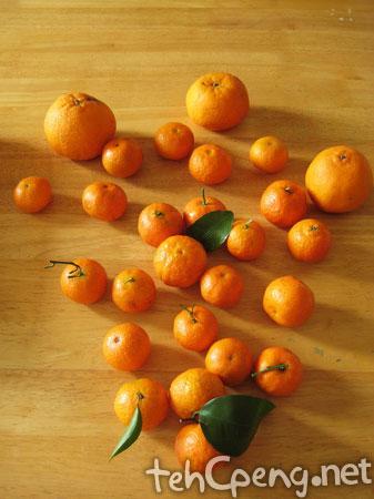 Orange shooting set