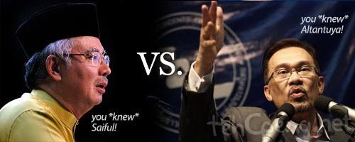 Anwar vs Najib