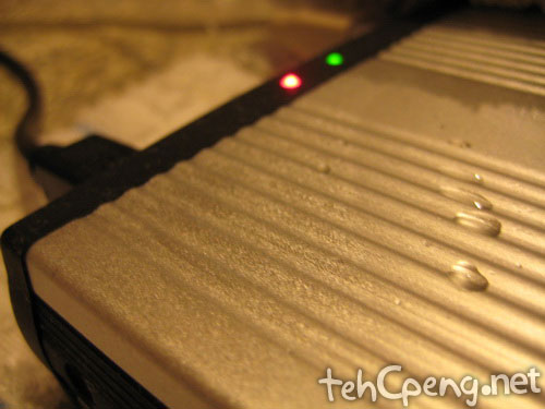 160Gig HDD condensation
