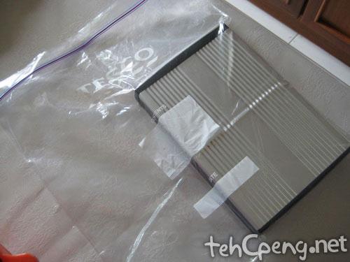 160Gig HDD in bag