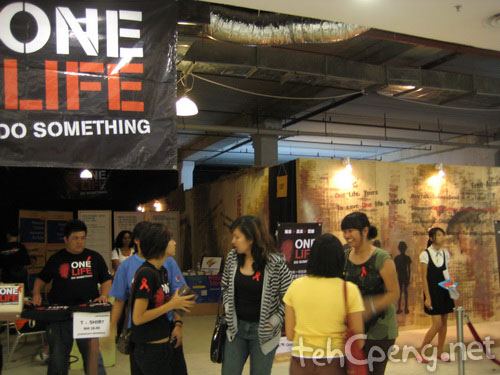 One Life exhibit at The Spring