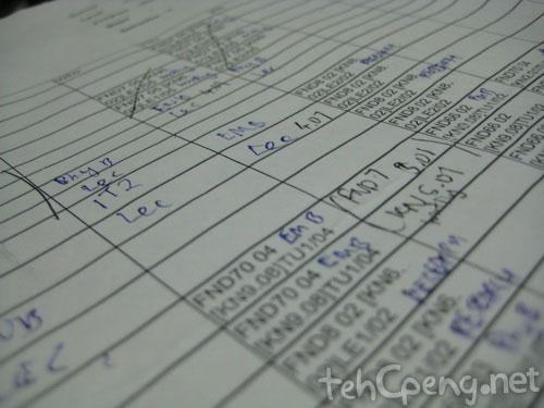 Crazy timetables