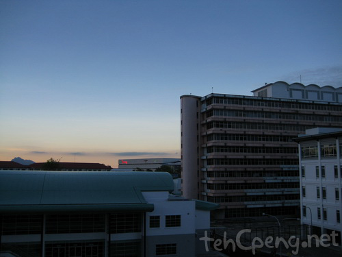 Sunset at Swinburne